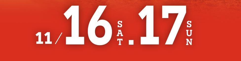 11月16-17日発表展示会